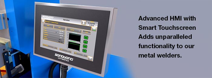 Advanced HMI with Smart Touchscreen Improves Metal Welding Results Using Data-Driven Capabilities